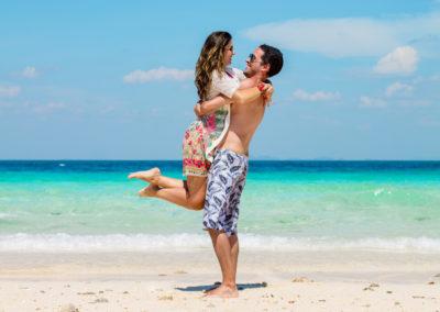 lancha privativa em Phi Phi - casal na Tailândia - fotos de casamento e lua de mel
