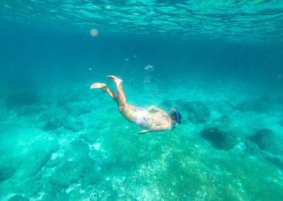 Snorkeling nos melhores lugares de Phi Phi