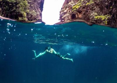 Snorkeling em Wang Long Bay