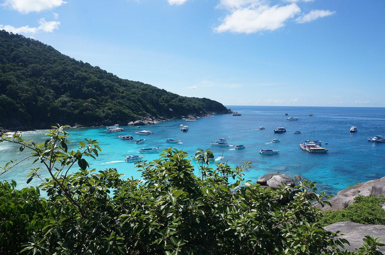passeio para Similan Islands