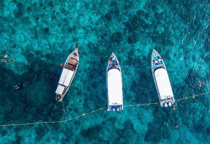 passeios em phi phi - passeio de barco One Day Trip - Na proa da vida
