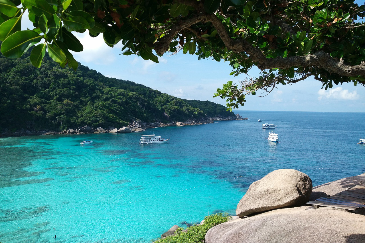 passeio para Similan - passeio racha e coral islands