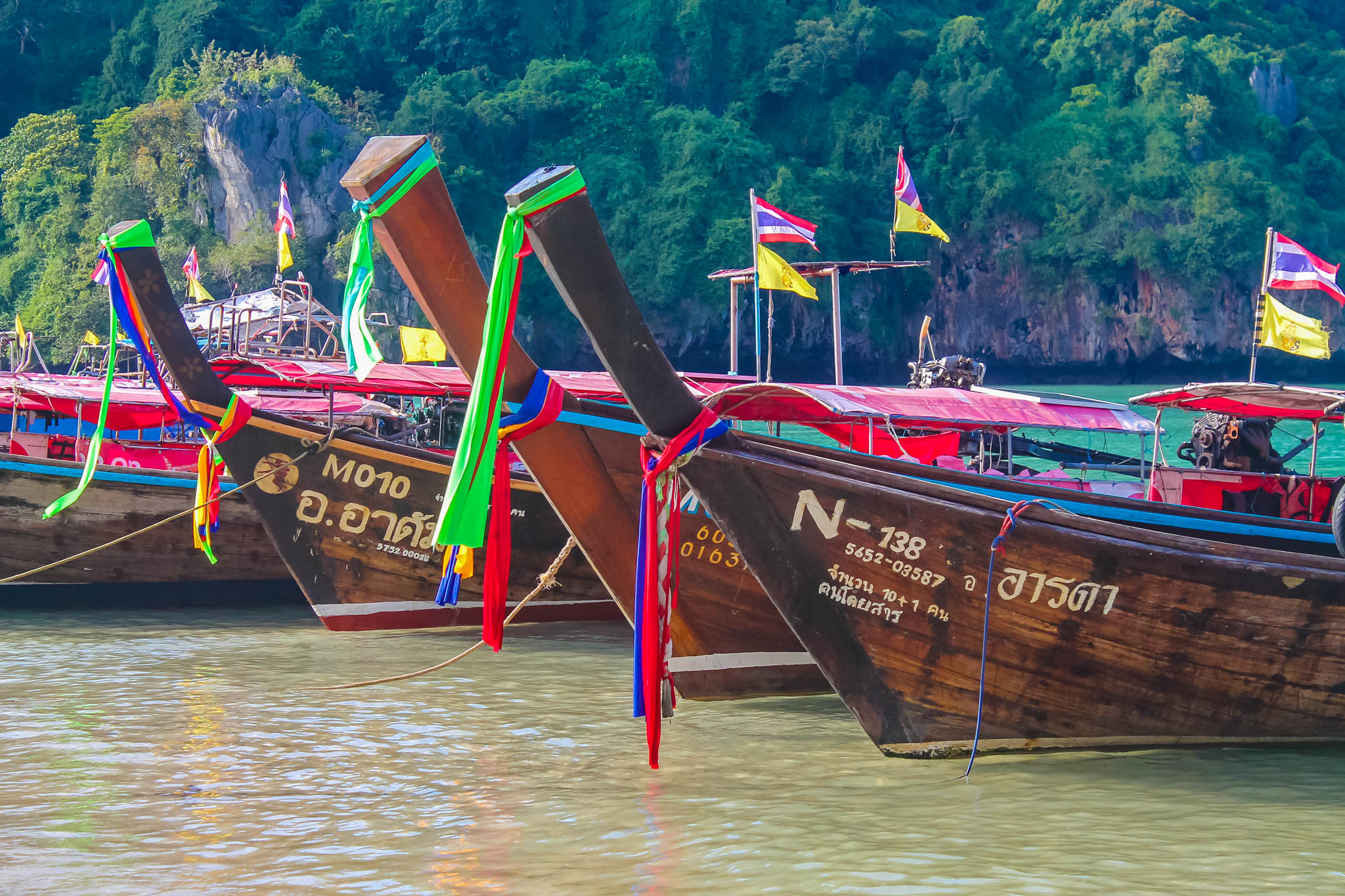 passeios em krabi - passeio das 4 ilhas krabi