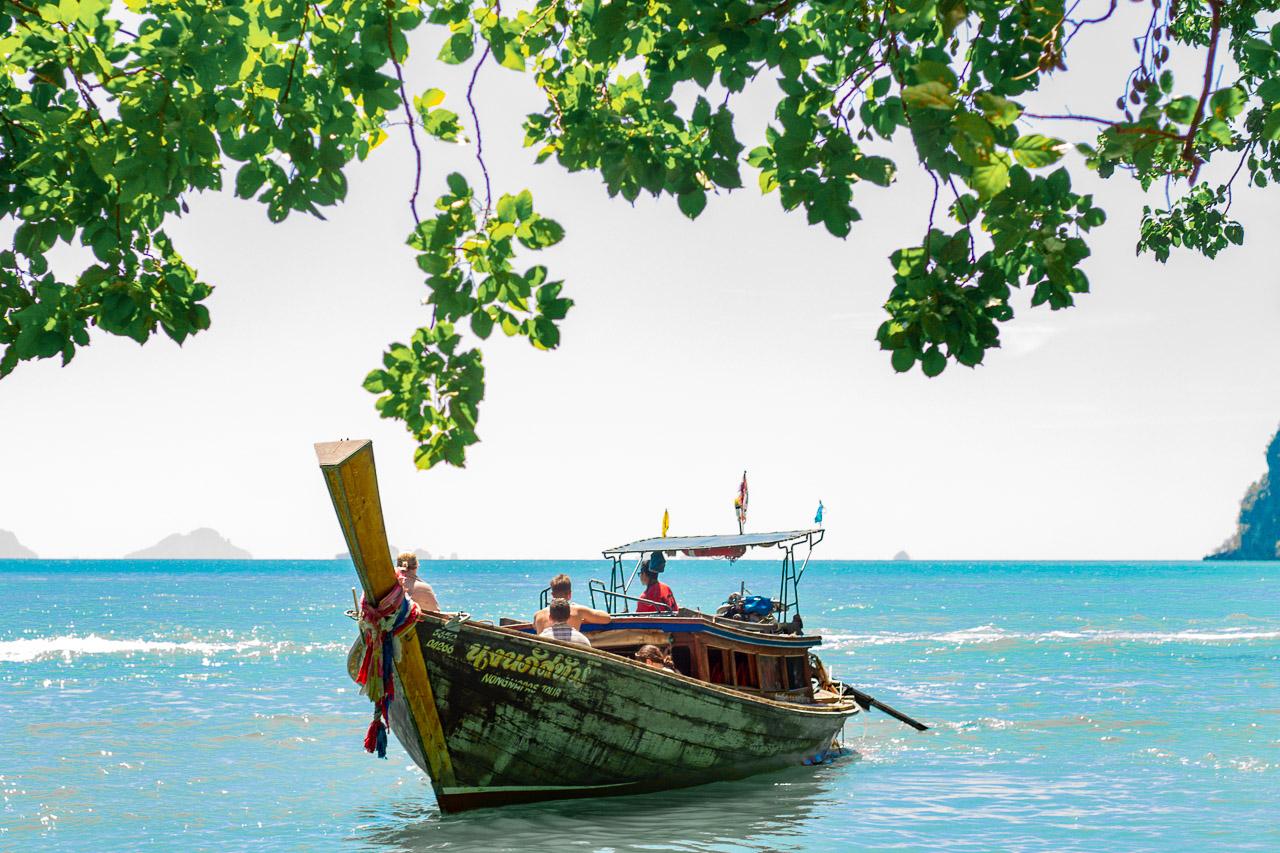 passeio para hong island em krabi, ao nang e railay beach