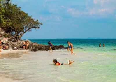 Praia das Tup Islands - passeio 7 ilhas Krabi