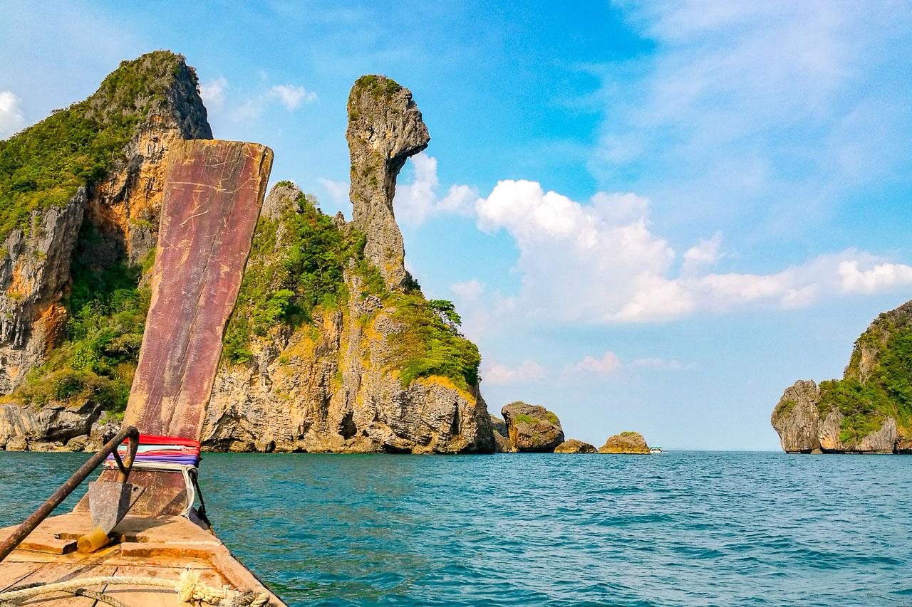 passeio pôr do sol hong island em krabi, ao nang e railay beach
