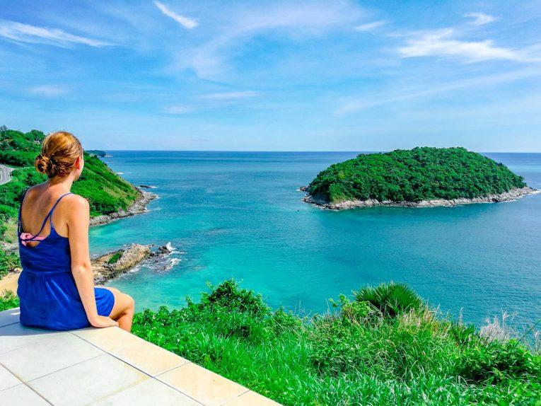 Phuket na Tailândia num dia lindo de Novembro.
