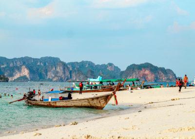 Passeio 7 ilhas em Krabi, Tailândia | Ao Nang, Railay Beach | 7 Islands tour