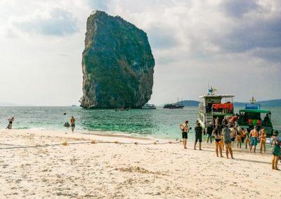 Poda Island - passeio de barco em Krabi