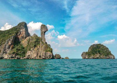 Passeio 7 ilhas em Krabi, Tailândia - Chicken Island | Ao Nang, Railay Beach | 7 Islands tour