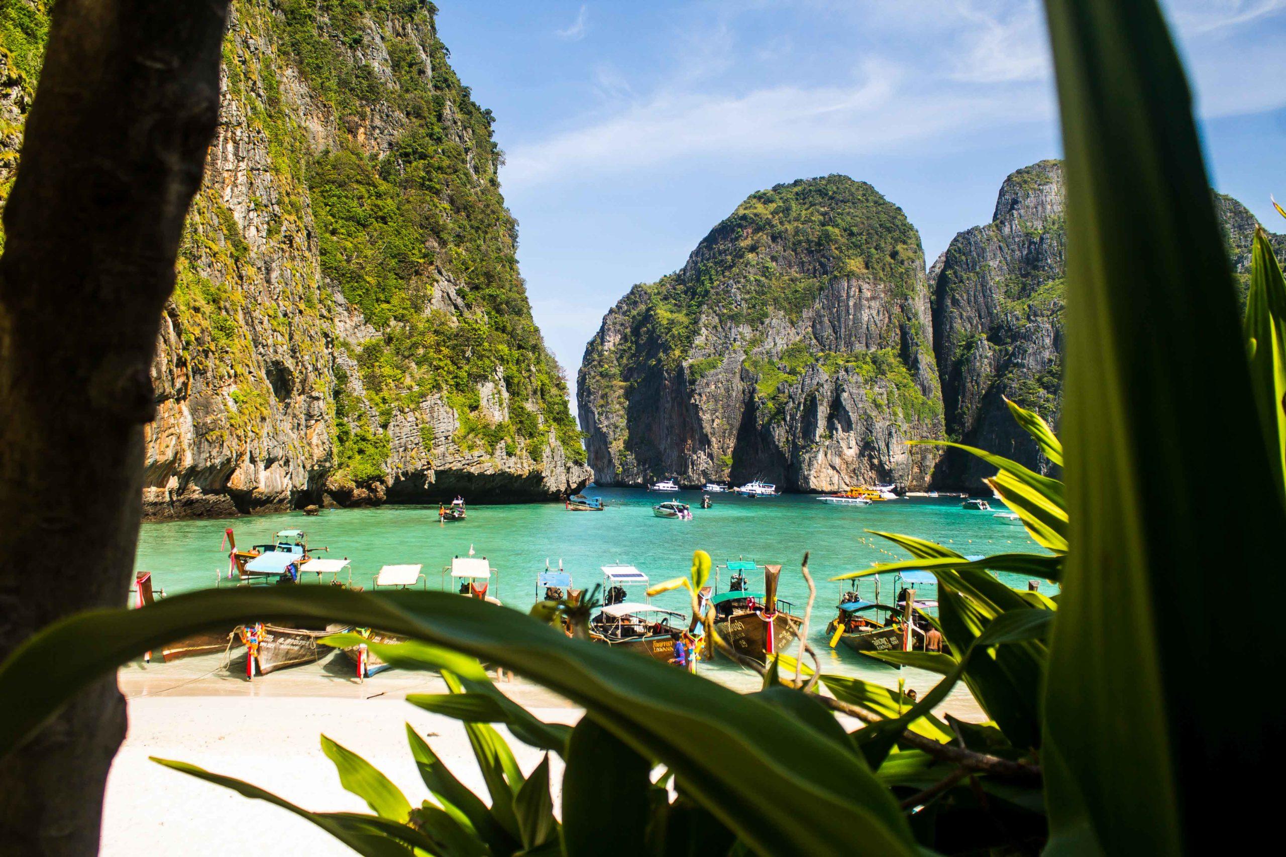passeio em phi phi tailandia