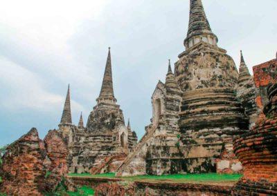Wat Phra Si Sanphet - templos de Ayutthaya