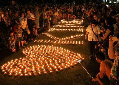Loy Krathong - Festival em Chiang Mai, Tailândia 2021