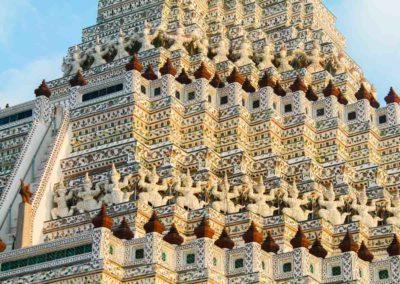 Wat Arun - passeio pelos templos de Bangkok. | Foto:Bruno@passeiosemphiphi