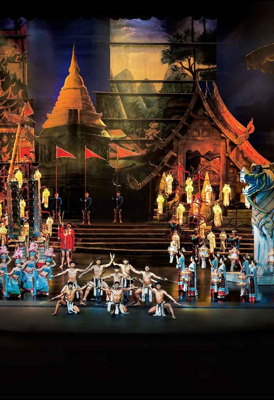 Show cultural Siam Niramit - show de dança tailandesa em Bangkok - arte musical