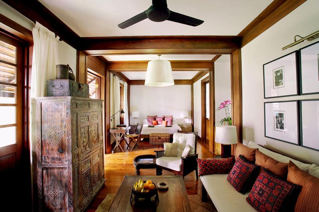 Quarto do Tamarind Village, um dos melhores hotéis de Chiang Mai.