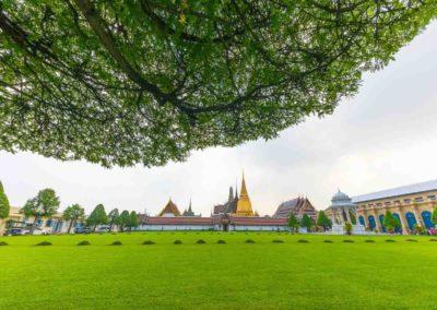Grand Palace em Bangkok, Tailândia.