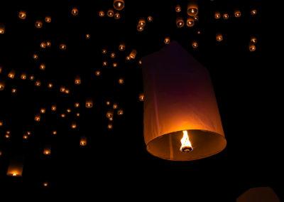 Ingresso Festival das Lanternas em Chiang Mai Tailândia
