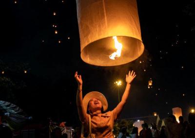 Como visitar o Festival das Lanternas em Chiang Mai Tailândia