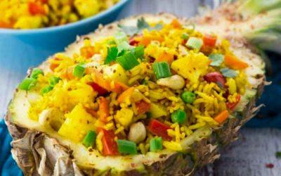 Como fazer arroz frito tailandês, o famoso khao pad
