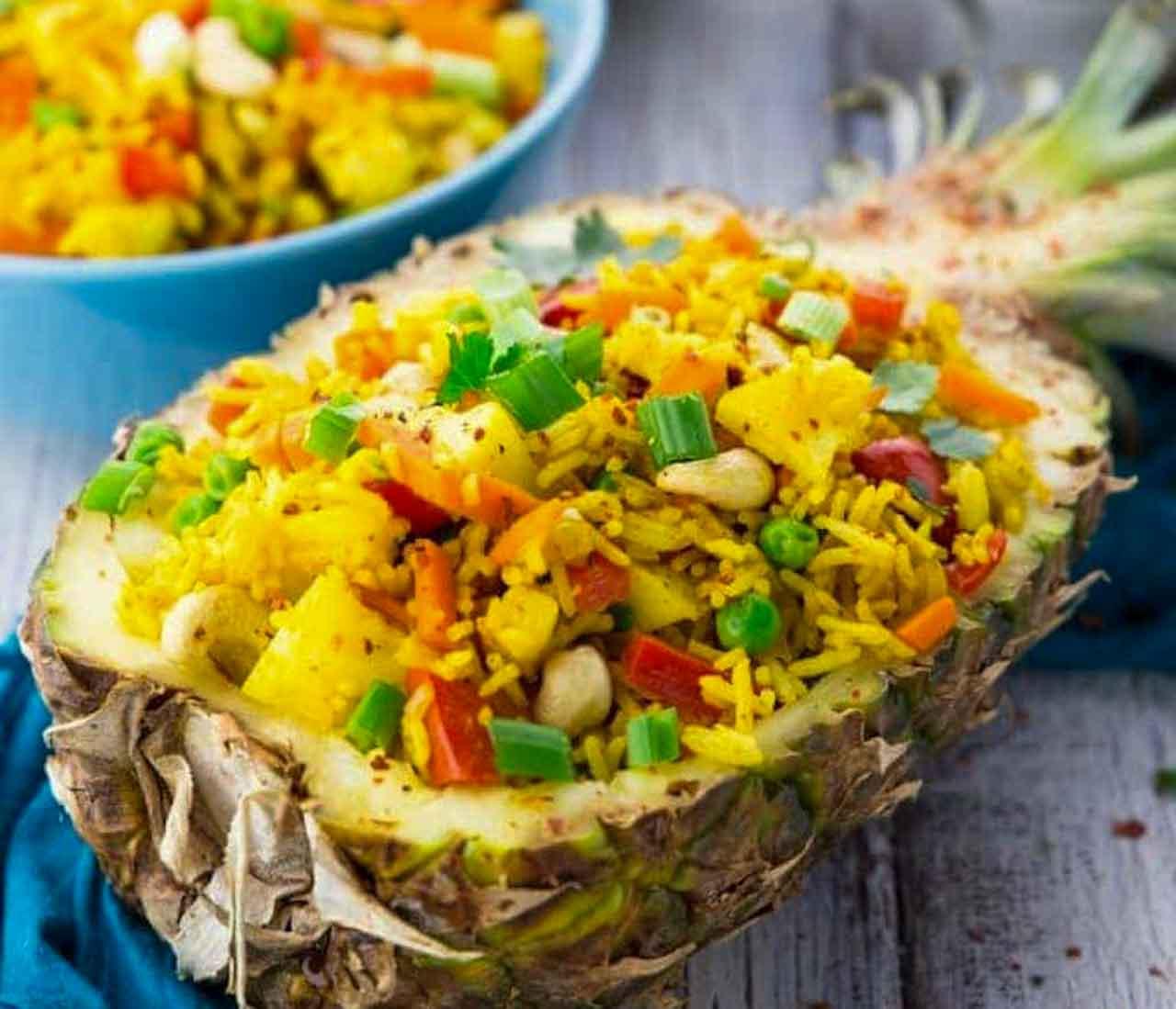 arroz frito tailandês: receita e como fazer